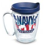 """Tervis® """"Navy Veteran"""" Mug"""